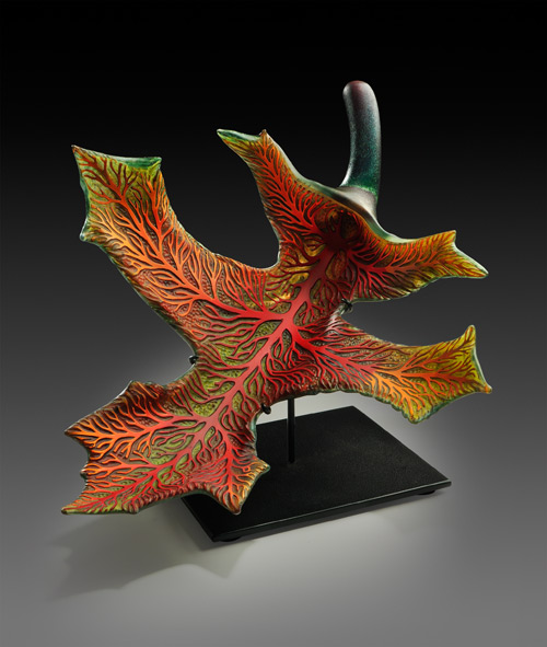 Sunset Oak by Randy Walker - William Traver Gallery
