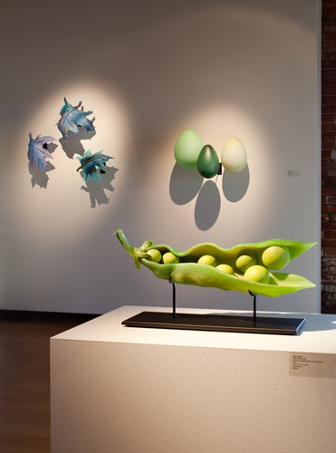 """Green Apple Pod"", Traver exhibit"