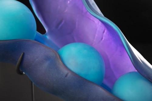 Hyacinth Pod - detail, 2013 by Randy Walker